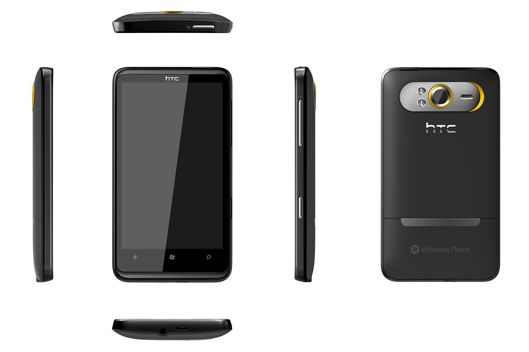 Body HTC HD7