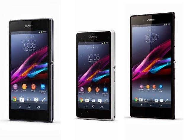 Desain Sony Xperia Z4