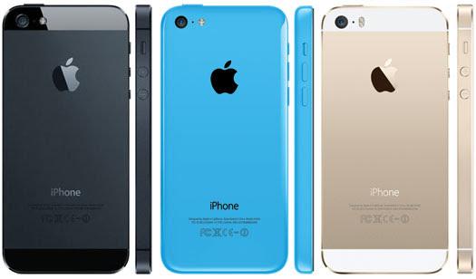 Pilihan Warna Apple iPhone 5S