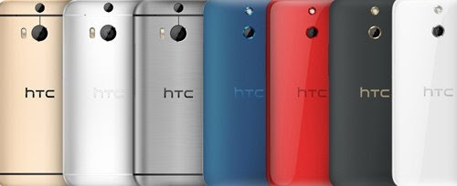 Pilihan Warna HTC One M8S
