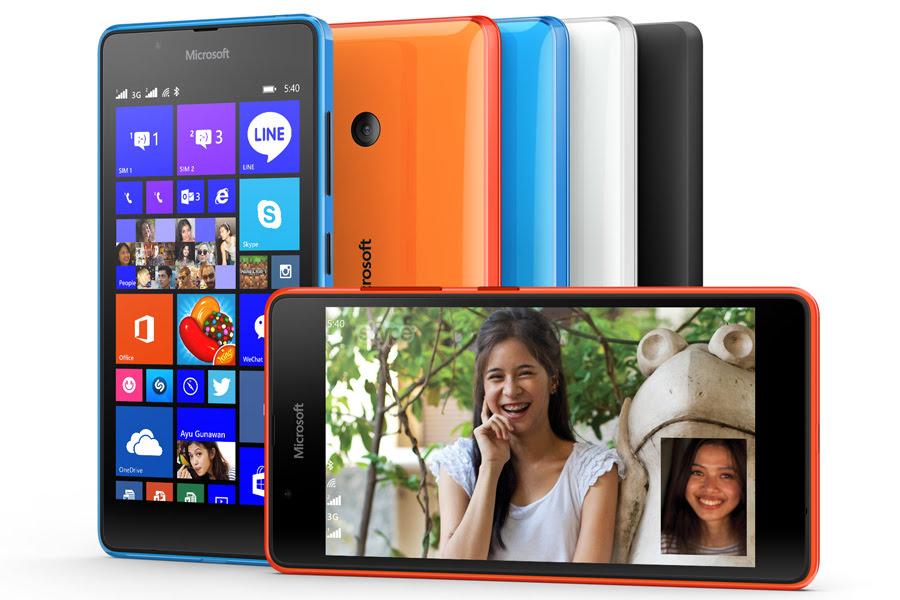 Pilihan Warna Lumia 540