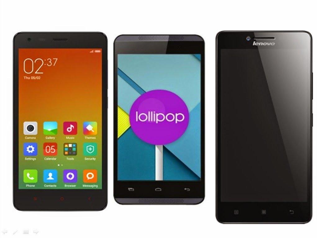 Xiaomi Redmi 2 Vs Android One Vs Lenovo A6000