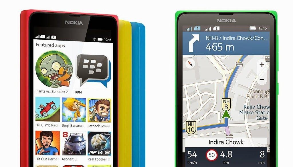 Antar Muka Nokia X