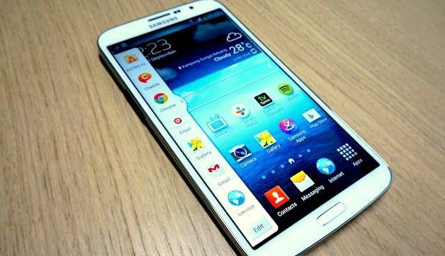 Antar Muka Samsung Galaxy Mega 2