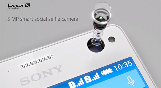 Kamera Sony Xperia C4 Dual