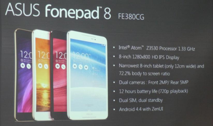 Banner Asus Fonepad 8