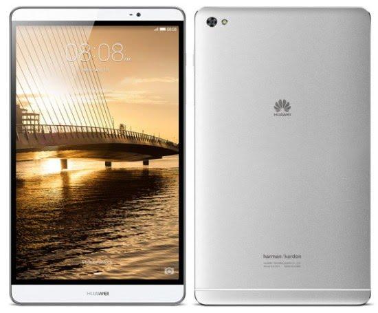 Desain Huawei MediaPad M2
