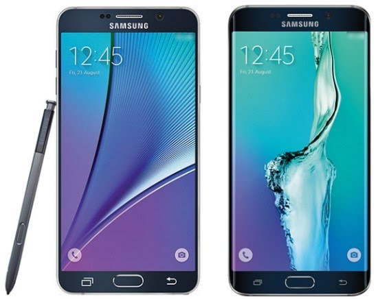 Samsung Galaxy S6 Edge Plus dan Galaxy Note 5