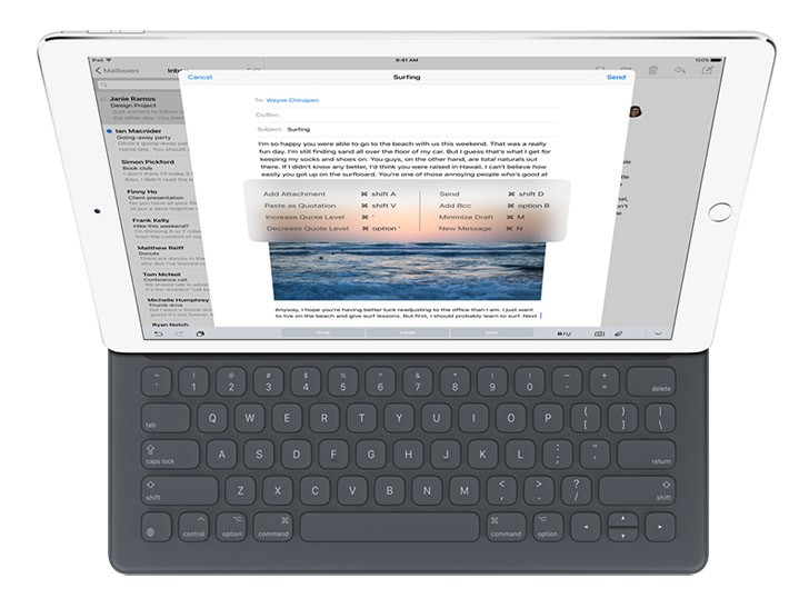Apple iPad Pro & Smart Keybord
