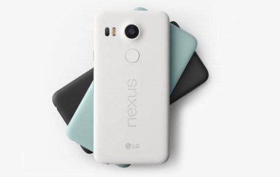 Varian Warna Google Nexus 5X