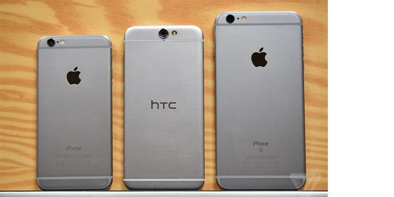 HTC One A9 Mirip iPhone