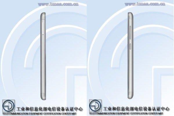 Desain Xiaomi Redmi 3