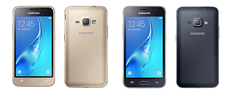 Varian warna dan tampilan Samsung Galaxy J1 2016