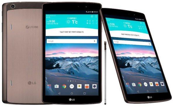 Penampilan LG G Pad II 8.3 LTE