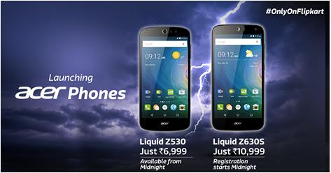 Promo Acer Liquid Z530 & Acer Liquid Z630S