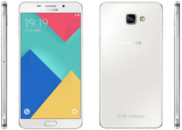 Desain Samsung Galaxy A9 Pro
