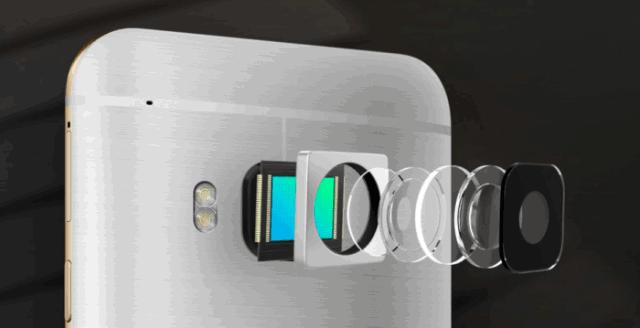 Kamera dan corak HTC One S9