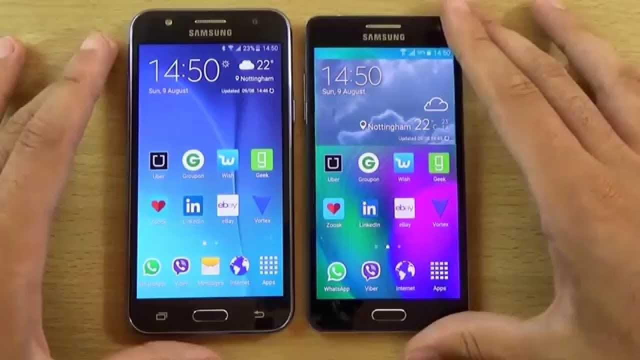 Samsung Galaxy J5 Vs Samsung Galaxy J5 (2016)