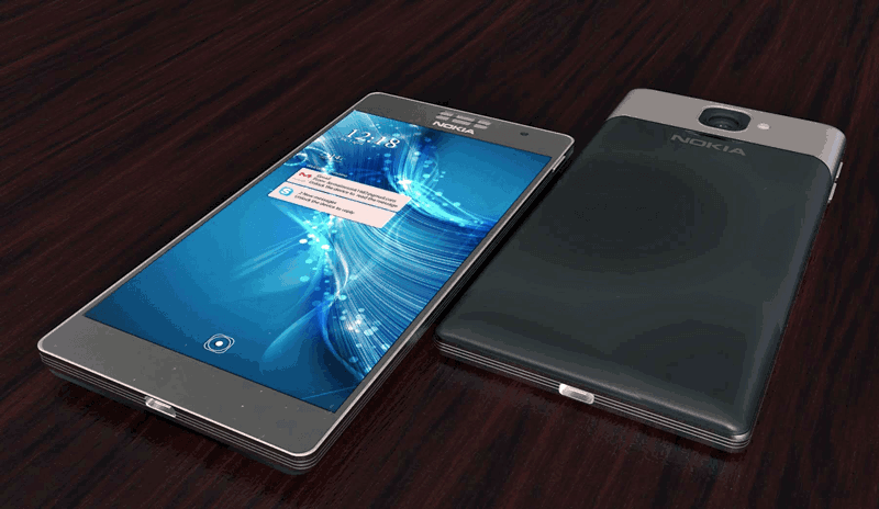 Desain Nokia P1
