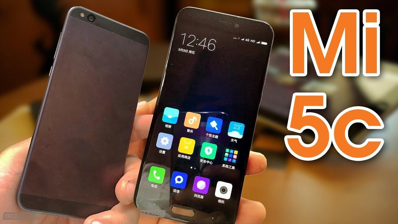 Xiaomi Mi 5c on hand